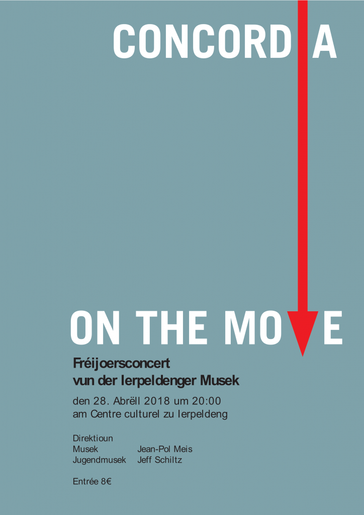 Galaconcert 'Concordia on the move!' @ Ierpeldeng / Sauer am Centre Culturel & Sportif